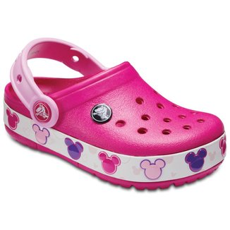 Crocs Lights Mickey Clog K Feminina