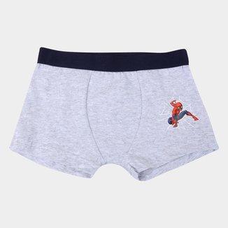 Cueca Boxer Infantil Evanilda Marvel Homem-Aranha