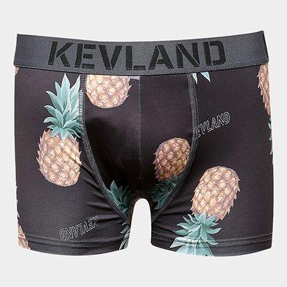 Cueca Boxer Kevland Abacaxi Tropical