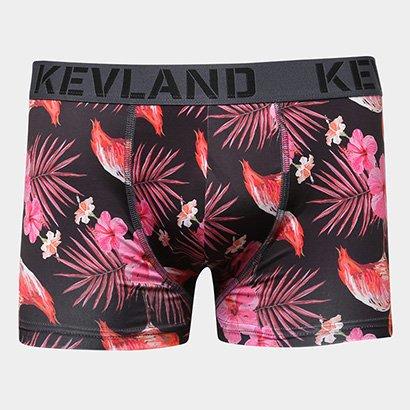 Cueca Boxer Kevland Estampa Floral