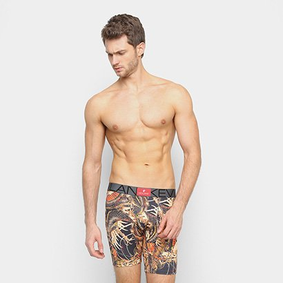 Cueca Boxer Kevland Long Leg Dragon Tattoo