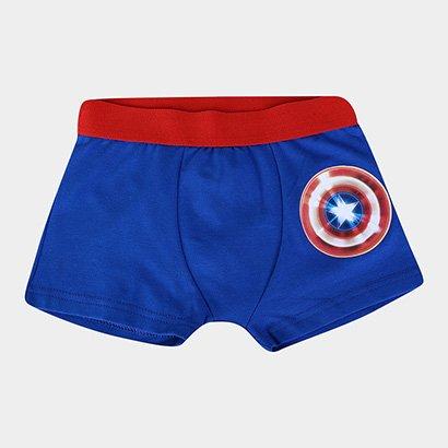 Cueca Infantil Evanilda Boxer Avengers