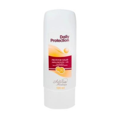 Daily Protection FPS 30 120ml - Protetor Solar FPS 30 120 ml Adélia Mendonça