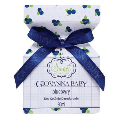 Deo Colônia Desodorante Giovanna Baby Blueberry 50ml
