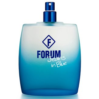 Deo Colônia Jeans in Blue Unissex Forum 50ml