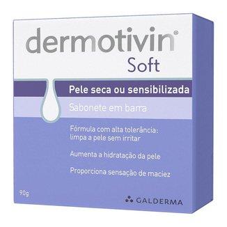 Dermotivin Soft - Sabonete em Barra 90g
