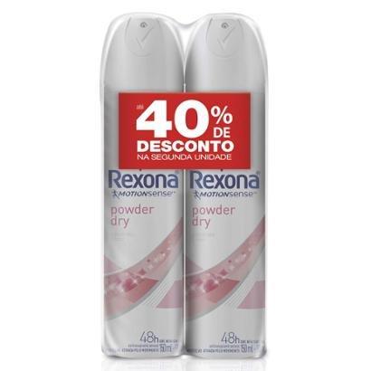 Desodorante Aerosol Rexona Powder Dry 150ml 2 Unidades