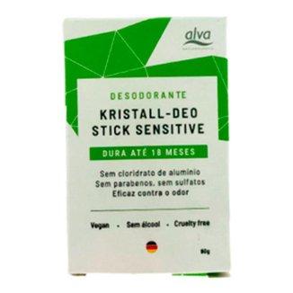 Desodorante Alva Stone Refil Kristall Sensitive 90g