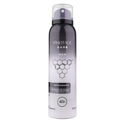 Desodorante Antitranspirante Aerossol Vinotage Men 150ml