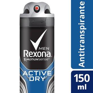 Desodorante Antitranspirante Rexona Active Dry/Azul 150ml