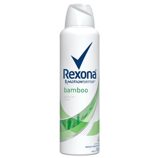 Desodorante Antitranspirante Rexona Feminino Aerosol Bamboo & Aloe Vera 150ml