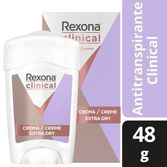 Desodorante Antitranspirante Rexona Feminino Clinical Extra Dry 48 g