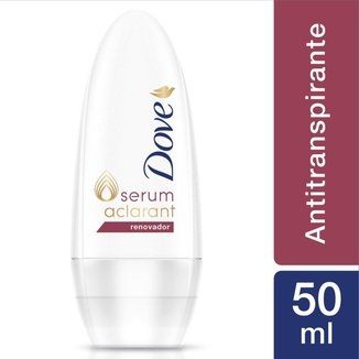 Desodorante Dove Roll-On Antitranspirante Renovador Feminino 50ml