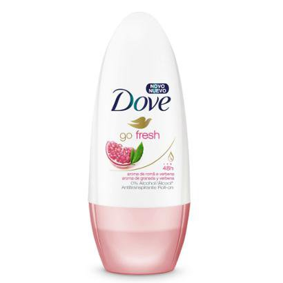 Desodorante Dove Roll-On Feminino Romã 50ml