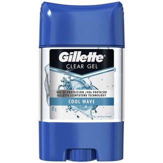 Desodorante Gillette Clear Gel Cool Wave 82 g