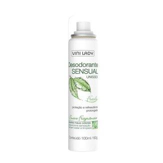 Desodorante Íntimo Sensual Unissex Fresh Spray 100ml Vini Lady