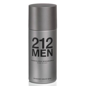 Desodorante Masculino 212 Men Carolina Herrera 150ml