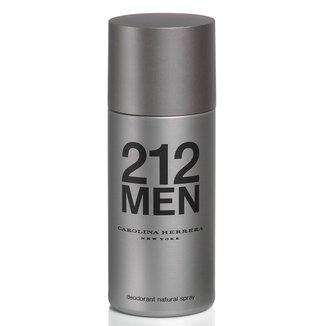 Desodorante Masculino 212 Men Carolina Herrera 150ml