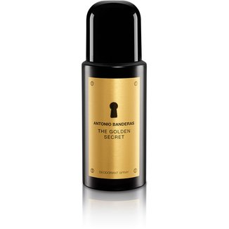 Desodorante Masculino The Golden Secret Antonio Banderas 150ml