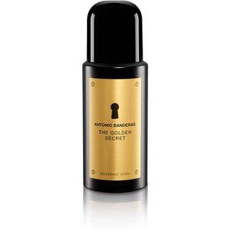 Desodorante Masculino The Golden Secret Antonio Banderas 150ml