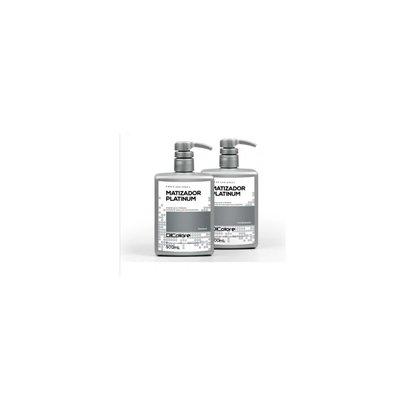 Dicolore Kit Desamarelador Matizador Platinum - 2 Produtos - ST