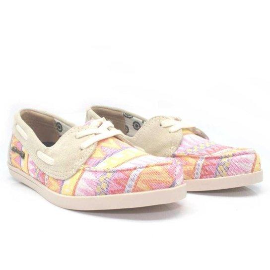 Dockside Casual Feminino Barth Shoes África Macio Dia a Dia - Rosa