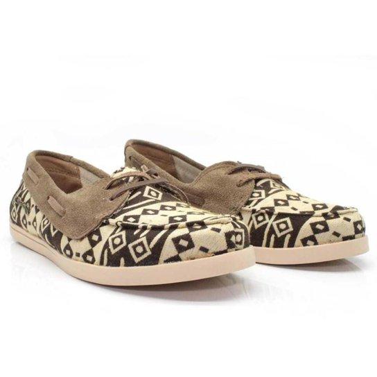 Dockside Casual Feminino Barth Shoes Asteca Macio Dia a Dia - Marrom