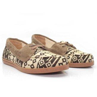 Dockside Casual Feminino Barth Shoes Asteca Macio Dia a Dia