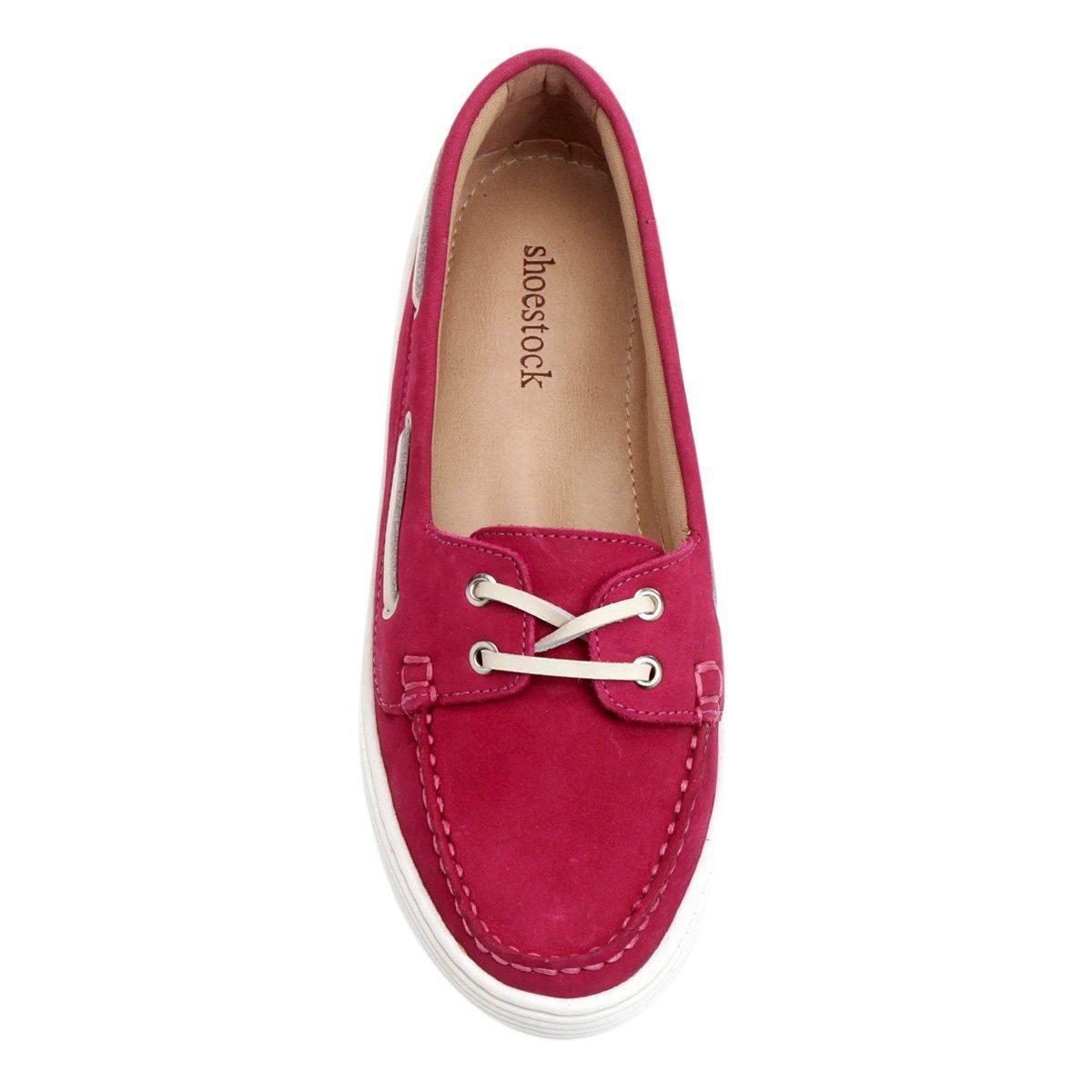 Shoestock Cadarço Dockside Pink Dockside Shoestock Dockside Couro Cadarço Pink Couro Shoestock Couro Cadarço qxfvOax