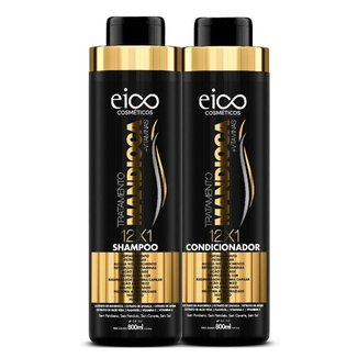Eico Tratamento Mandioca Kit – Shampoo 800ml + Condicionador 800ml Kit