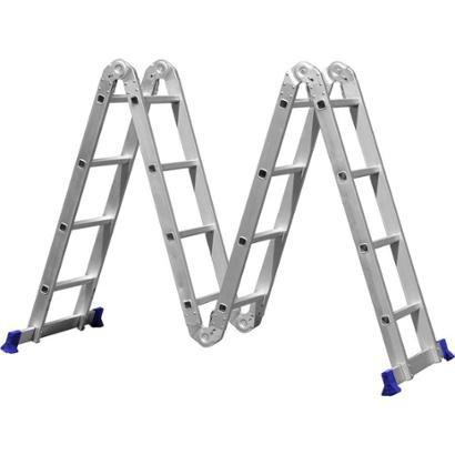 Escada Multifuncional 4x4 em Alumínio - MOR