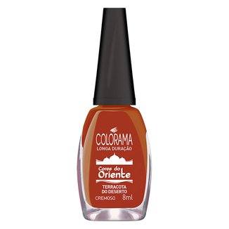 Esmalte Cremoso Colorama Cores do Oriente - Terracota do Deserto 8ml