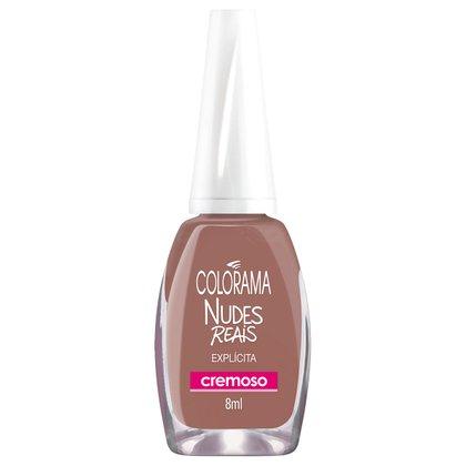 Esmalte Cremoso Colorama Nudes Reais Explicita