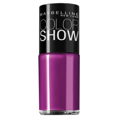 Esmalte Cremoso Maybelline Color Show Cor Purple Splash - Feminino