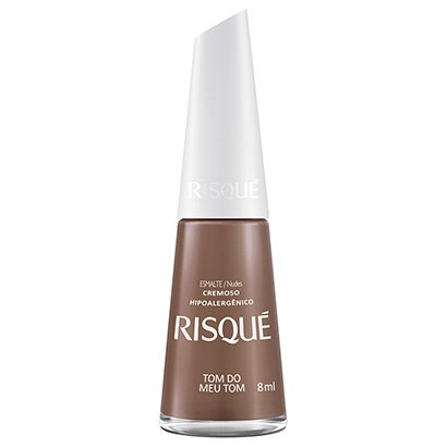 Esmalte Cremoso Risqué Tom do Meu Tom 8ml