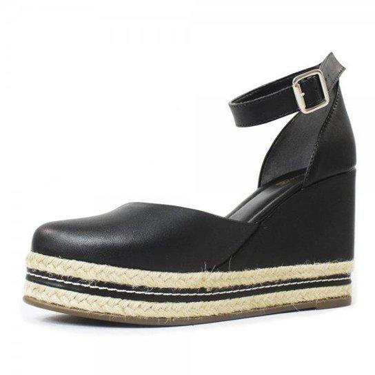 Espadrille Damannu Shoes  Ruby Feminino - Preto
