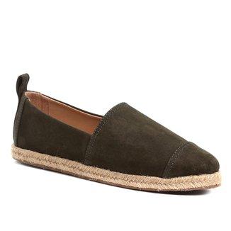 Espadrille Shoestock Camurça Feminina
