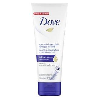 Espuma de Limpeza Facial Dove Hidratação Essencial 100g