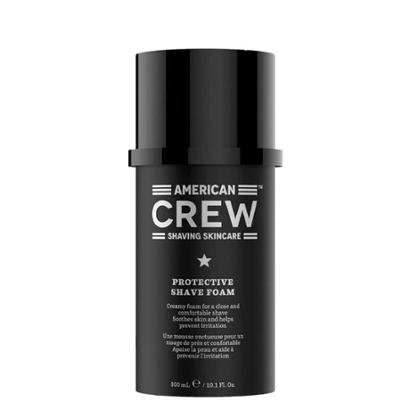 Espuma Protetora Cremosa para Barbear American Crew 300ml