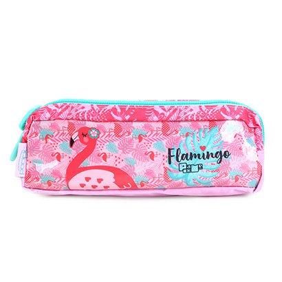 Estojo Escolar Flamingo Pacific-948M17