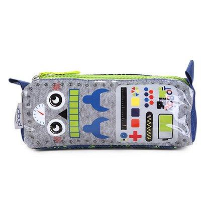 Estojo Escolar Robot Pacific-948L13