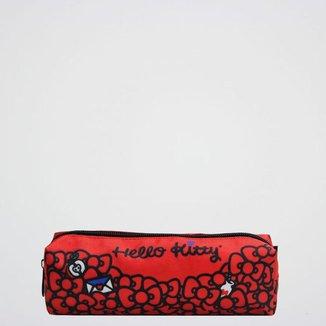 Estojo Hello Kitty Xeryus Feminino Infantil