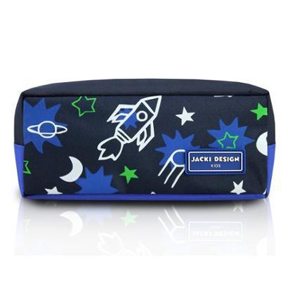 Estojo Infantil Jacki Design Foguete Microfibra Masculino