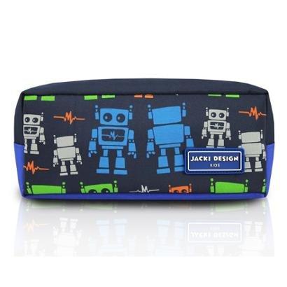 Estojo Infantil Jacki Design Robô Microfibra Masculino