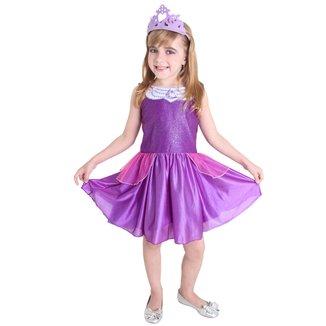 Fantasia Sulamericana Barbie Princesa Fada Pop