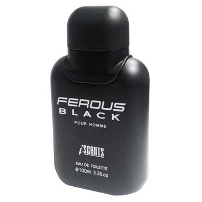 Ferous Black I-Scents Perfume Masculino Edt 100Ml Masculino-Incolor