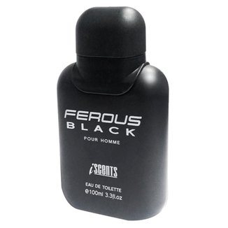 Ferous Black I-Scents Perfume Masculino Edt 100Ml