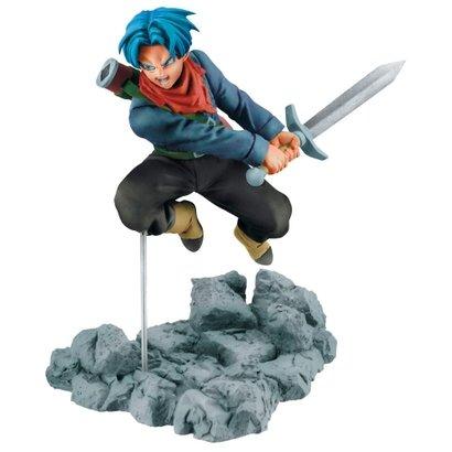 Figura Colecionável - 10 Cm - Dragon Ball Super - Trunks - Bandai