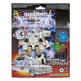 Figura Transformers Ghostbusters Robo Ectotron Ecto-1 E9556