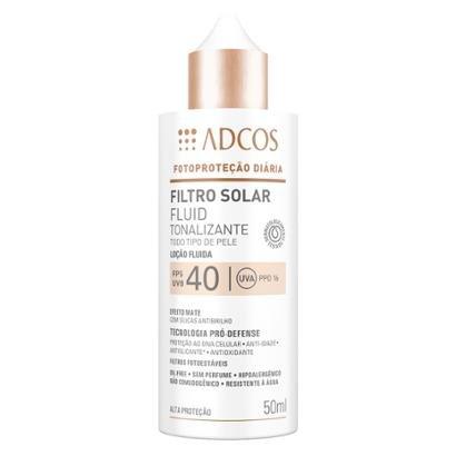 Filtro Solar Adcos Fluid Tonalizante Fps40 Ivory
